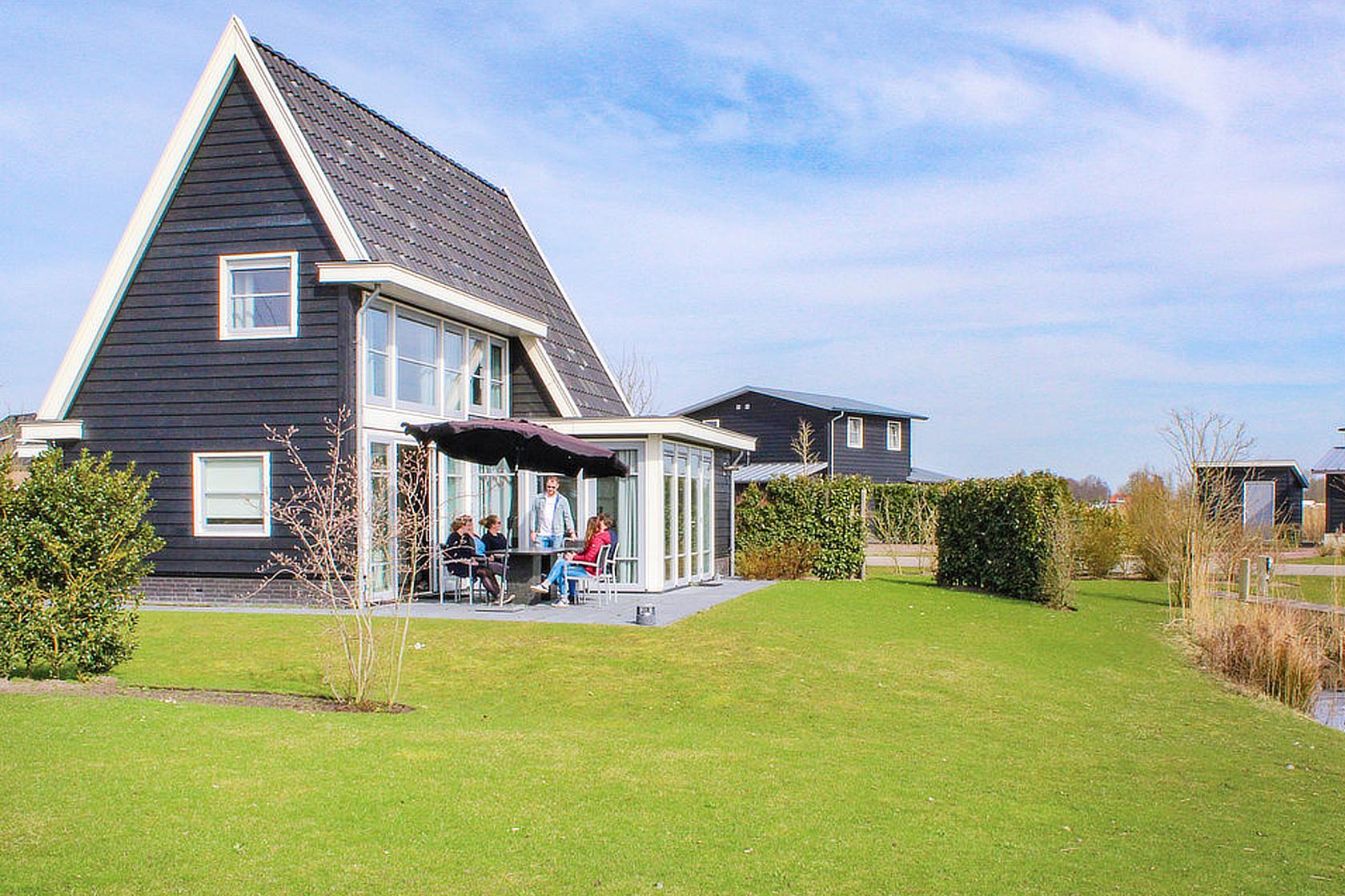 vakantiehuisjes aan de Nederlandse kust